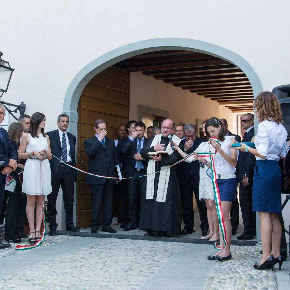 Inaugurazione Villa S. Mauro