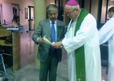 Visita del Vescovo a Villa Ilvana
